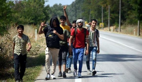 """Afgan göçmenler """"söylenti"""" üzerine Yunanistan sınırına akın etti"""