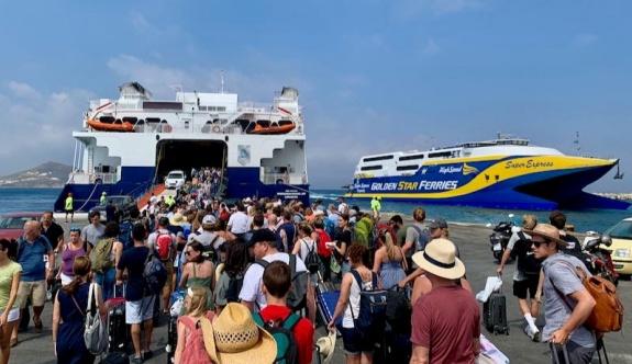 Deniz yolculuğu rotaları 2019 yılı seviyelerine ulaştı