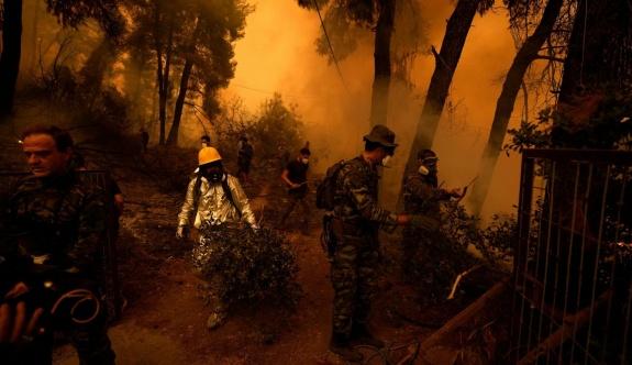 Mitsotakis'ten yangınla mücadeleyi artırma sözü