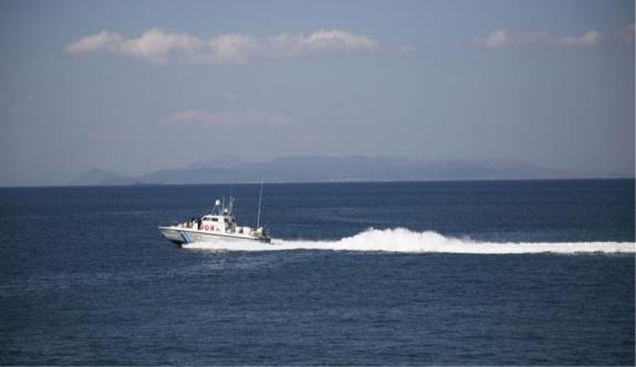Mora Denizi açıklarında batan geminin mürettebatı kurtarıldı