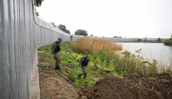 Türkiye sınırına örülen 40 km'lik duvar tamamlandı