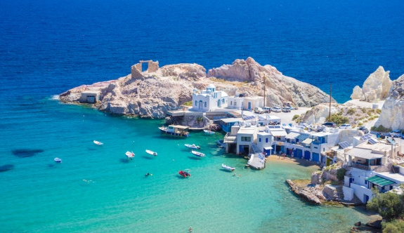 ABD'li gezginler Milos'u Avrupa'nın en büyük adası olarak seçti