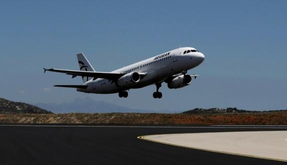 Aegean Airlines Temmuz ve Ağustos aylarında yolcuların yüzde 70 oranında arttığını söyledi