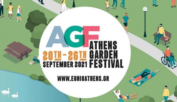 Atina'da bahçe festivali