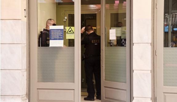 Atina'nın merkezinde gerçekleşen banka soygununda bir kişi tutuklandı