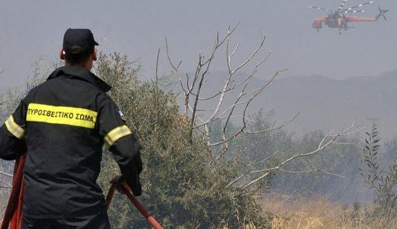 Attika'nın doğusunda çıkan yangın kontrol altına alındı