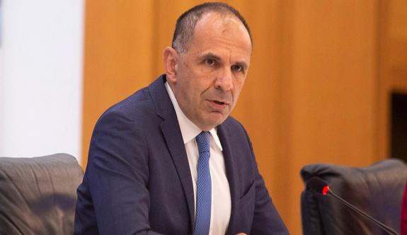 Bakan Gerapetridis Mitsotakis ile Erdoğan arasında planlanmış bir görüşme olmadığını söyledi