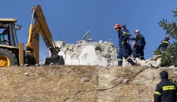 Girit depreminde bir kişi hayatını kaybetti