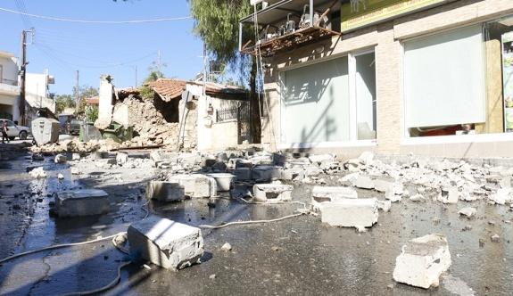 Girit'te 5.8 büyüklüğünde deprem
