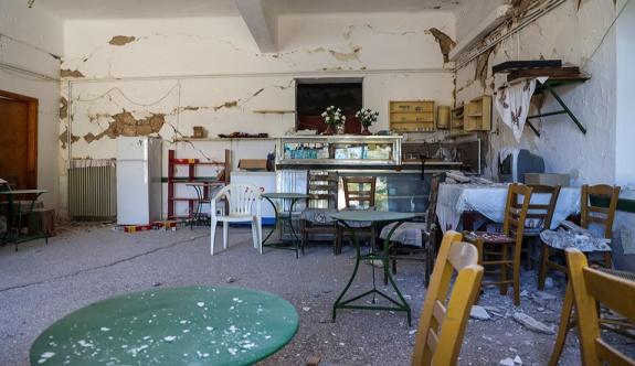 Girit'teki depremden etkilenen evlerin dörtte üçü geçici olarak oturulamaz durumda