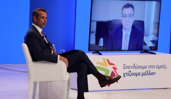 """Mitsotakis: """"Yunanistan ekonomisi için önemli gelişmeler olacak"""""""
