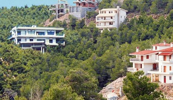Ormanlık alanda inşa edilen konutlar yasallaştırılacak