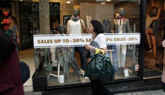 Perakende satışlarda düşüş gözlemlendi