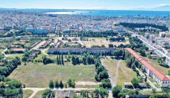 Selanik'te oluşturulacak olan park için imzalar atılacak