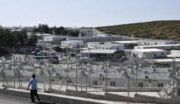 Sisam Adası'nda yeni göçmen merkezi açıldı