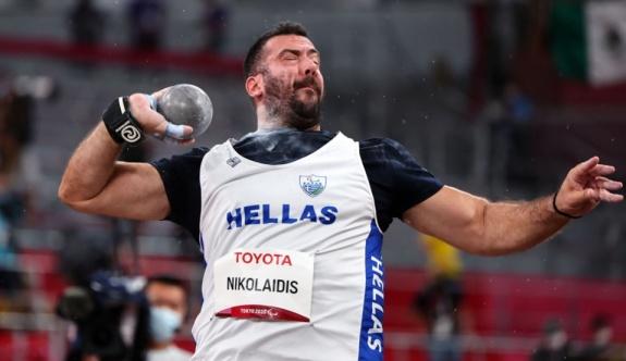 Tokyo Paralimpik Oyunları'nda Yunanistan'a gülle atma kategorisinde bronz madalya