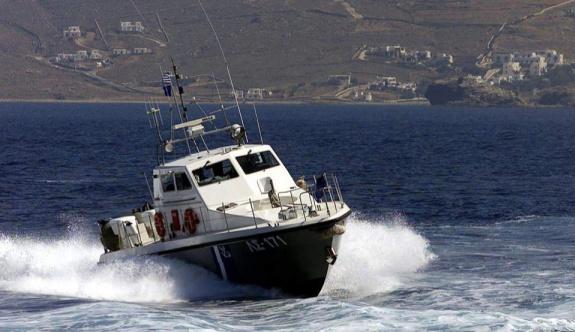 Yabancı uyruklu göçmenler Milos ve Çuha Adası açıklarında bulundu