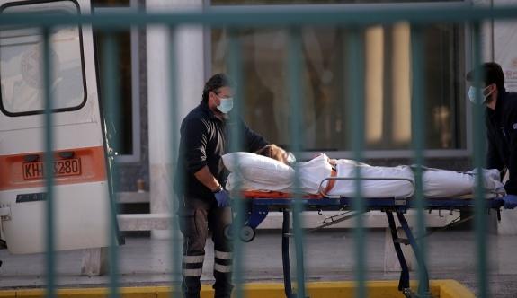 Yunanistan'da toplam COVID-19 ölüm sayısı 14 bini aştı