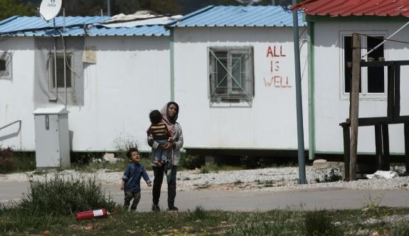 Göç Bakanlığı, sığınmacıların kamplarda uygun şekilde beslendiğini söyledi