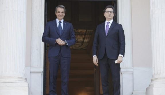Kuzey Makedonya Cumhurbaşkanı Yunanistan'a ilk resmi ziyaretini gerçekleştirdi