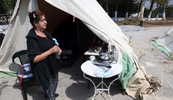 Mobil konut birimleri depremden etkilenen Giritlilere ulaştı