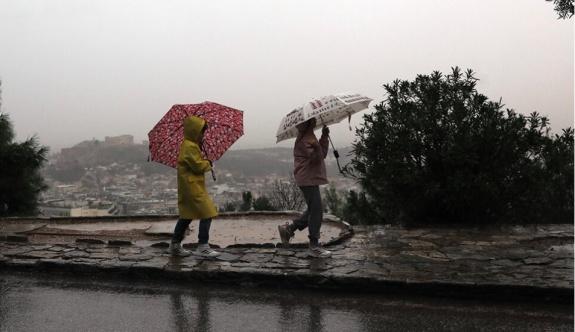 Pazartesi günü yağışlı havalar geliyor