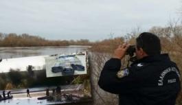 Meriç Nehri'nden 62 kilogram esrarla Yunanistan'a geçmeye çalışan 3 kişi yakalandı