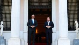 Başbakan Mitsotakis Mısır Cumhurbaşkanı Sisi ile görüştü