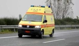 Selanik'te meydana gelen trafik kazasında 1 göçmen öldü 9 kişi yaralandı