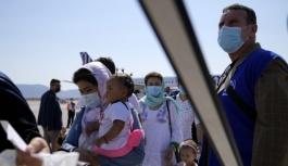 Yunanistan'da 35 Afgan'a kalıcı...